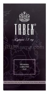 Tabex 1.5 mg 100 tablets