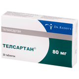 Telsartan 80 mg 30 tablets pack