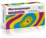 Metiluratsil 500 mg 50 tablets pack