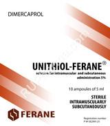 Unithiol, DMPS, Dimercaprol