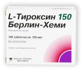 L-Thyroxine 150 mg 100 tablets