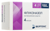 Fluconazole 150 mg 4 tablets