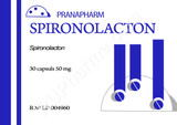 Spironolactone, Aldactone, Spiractin, Verospiron