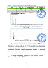 Phenylpiracetam certificate of quality