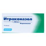 Itraconazole 100 mg 14 tabs