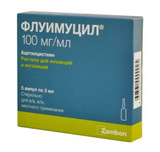 Acetylcysteine inhale or inject