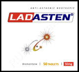 Original Ladasten (Bromantan) discontinued by manufacturer