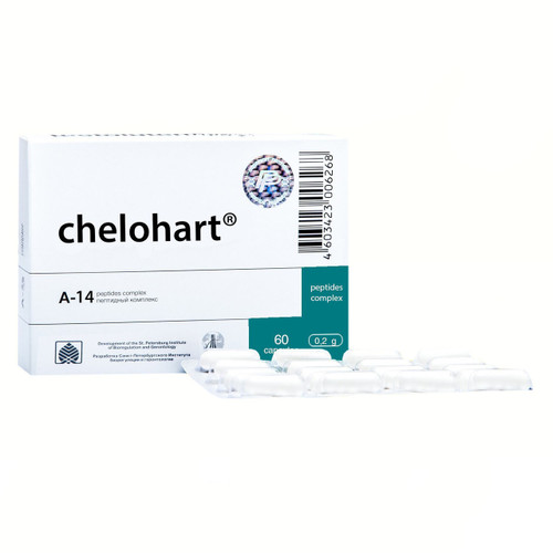 CHELOHART® for hearth and infarction, 60 caps/pack