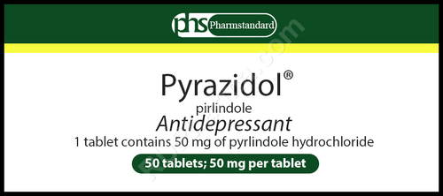 PIRAZIDOL® (Lifril, Pirlindole) 50 tabs/pack, 50 mg/pack