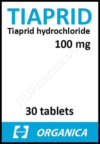 TIAPRIDE® (Tiapridal) 20 tabs/pack, 100 mg/tab