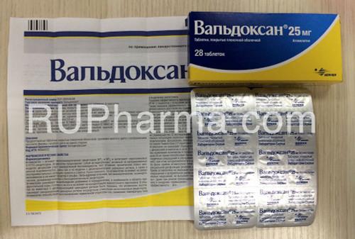 VALDOXAN® (Agomelatine) 28 tabs/pack, 25 mg/tab