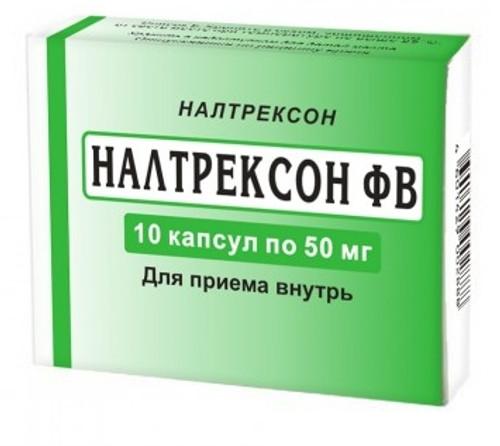 NALTREXONE® (ReVia, Vivitrol), 10 tabs/pack, 50mg/tab
