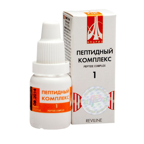 PEPTIDE COMPLEX 01 for arteries and heart, 10ml/vial