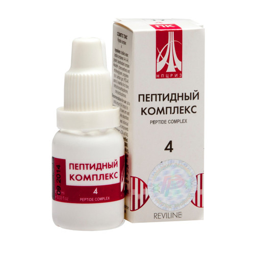 PEPTIDE COMPLEX 04 for spine and joints, 10ml/vial