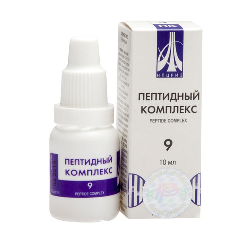 PEPTIDE COMPLEX 09 for male reproductive system, 10ml