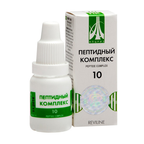 PEPTIDE COMPLEX 10 for female reproductive system, 10ml