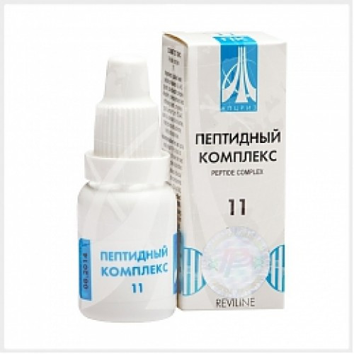PEPTIDE COMPLEX 11 for the urinary system, 10ml/vial