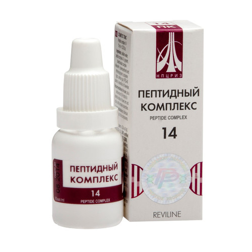 PEPTIDE COMPLEX 14 for veins, 10ml/vial
