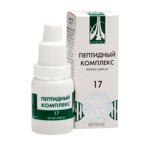 PEPTIDE COMPLEX 17 for eyes, 10ml/vial