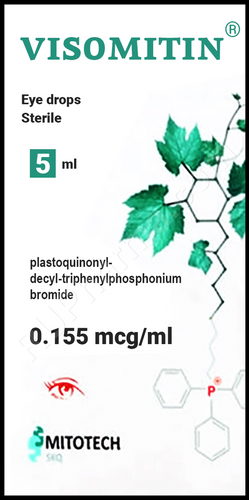 VISOMITIN® (SKQ1, Skulachev Ions) for eye health, 5ml