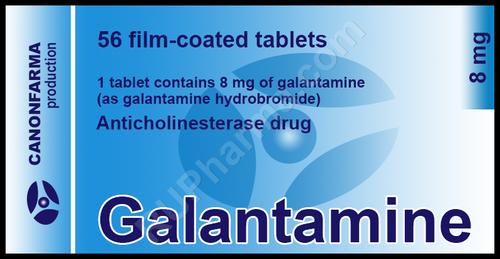 GALANTAMINE® (Nivalin) 56 tabs/pack, 8 mg/tab