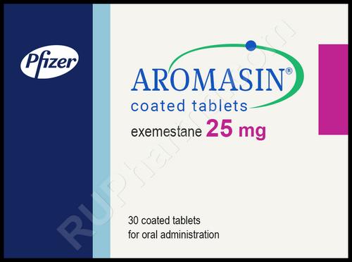 AROMASIN® (Exemestane) 30 tabs/pack, 25 mg/tab