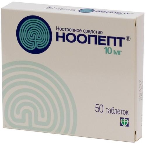 Sample Noopept 10 tabs/blister, 10 mg/tab