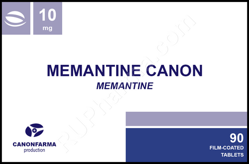 Sample Memantine Canon 10 tabs/blister, 10 mg/tab