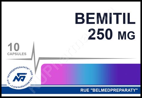 BEMITIL® (Bemethyl, Metaprot) 10 tabs, 250 mg/tab