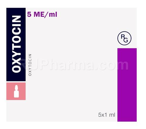 OXYTOCIN (Love Hormone), 5 ampoules, 1 ml/ampoule