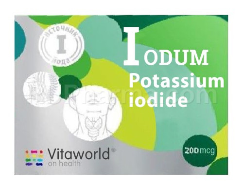 POTASSIUM IODIDE (Everyday Use) 100 tabs, 0.2 mg/tab