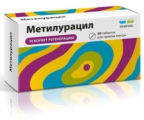METILURATSIL® (Dioxomethyltetrahydropyrimidine) 50tab/pack, 500mg/tab