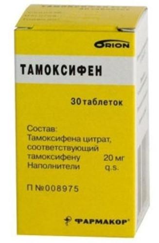 TAMOXIFEN (Nolvadex, Genox) 30 tabs, 10-20 mg/tab