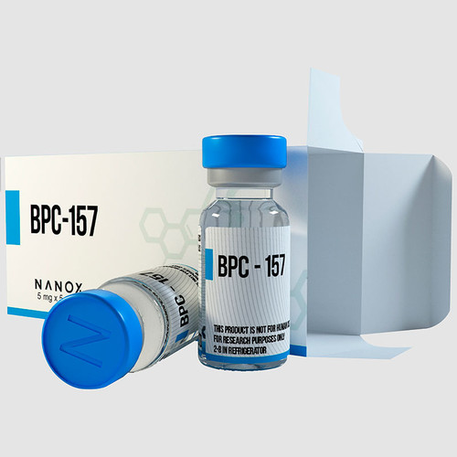 BPC-157 (Body Protective Compound) Peptide, 1 vial, 5 mg/vial
