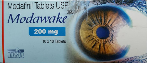 MODAWAKE® (Modafinil) 10 tabs/pack, 200 mg/tab