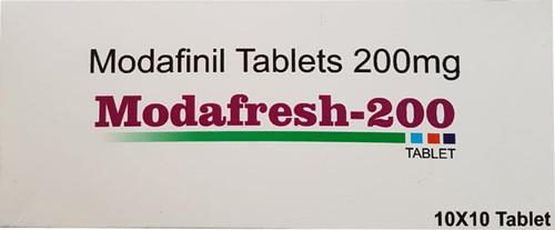 MODAFRESH® (Modafinil) 10 tabs/pack, 200 mg/tab