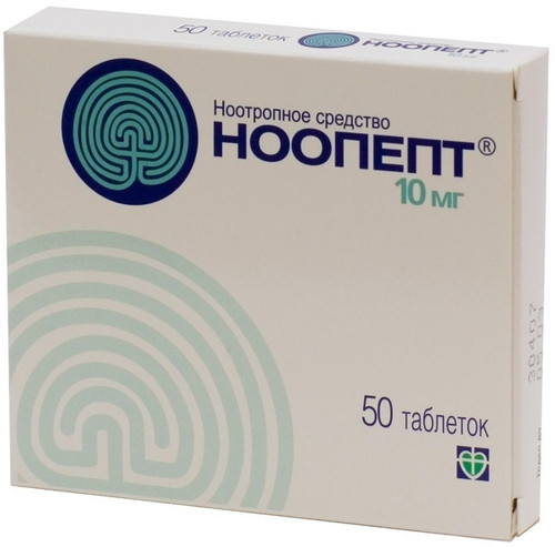 NOOPEPT®, 50 tabs/pack, 10mg/tab