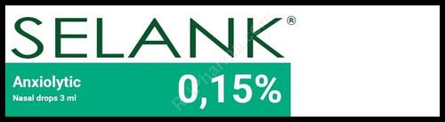 SELANK®, 0.15%, 3ml/vial