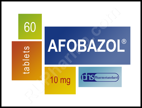 AFOBAZOL®, (Afobazole) 60 tabs/pack, 10 mg/tab