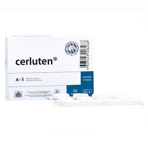 CERLUTEN® for brain and nervous tissue, 60 caps/pack