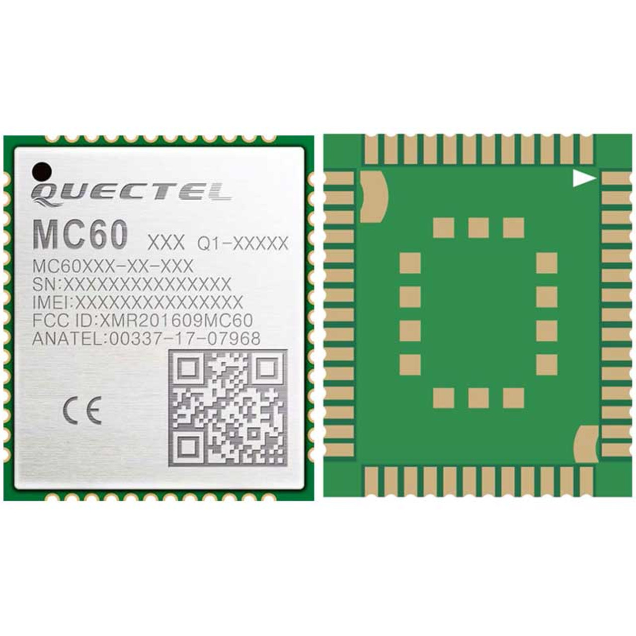 Quectel MC60 GSM/GPRS/GNSS Module, Bluetooth BT3 0