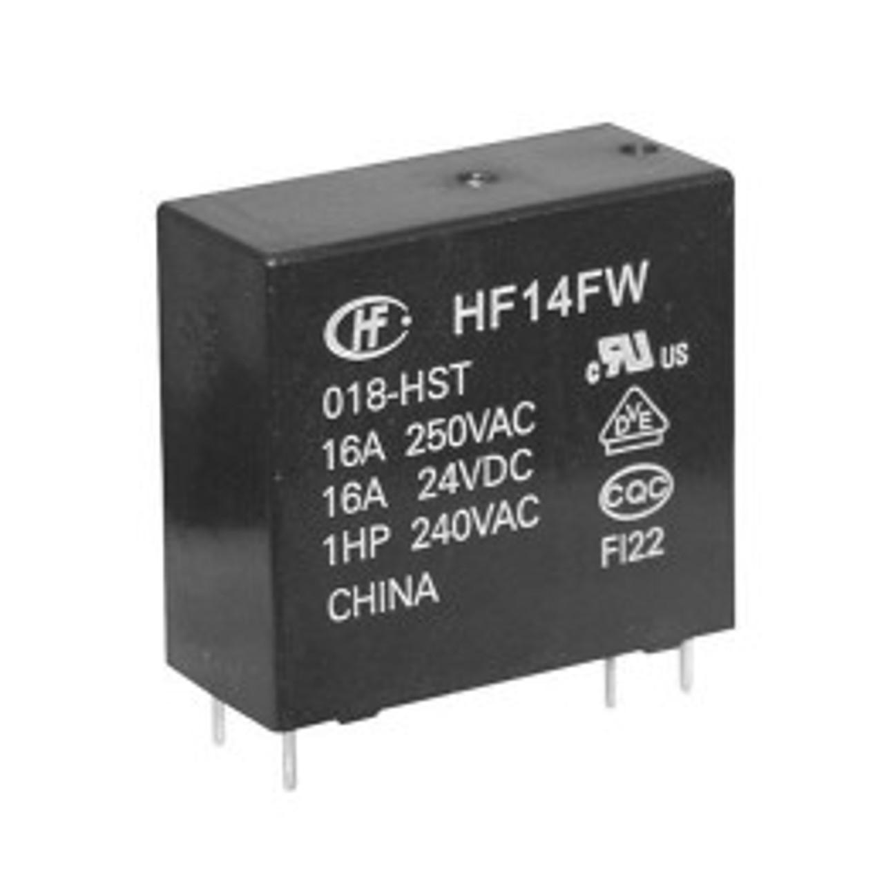 HF14FW//012-HST   HONGFA  Relais  Relay  SPST-NO 12VDC 16A  275R  NEW  #BP 4 pcs