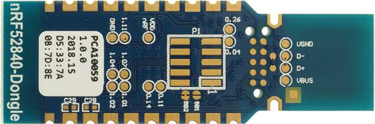 NRF52840-DONGLE - USB Dongle based on nRF52840