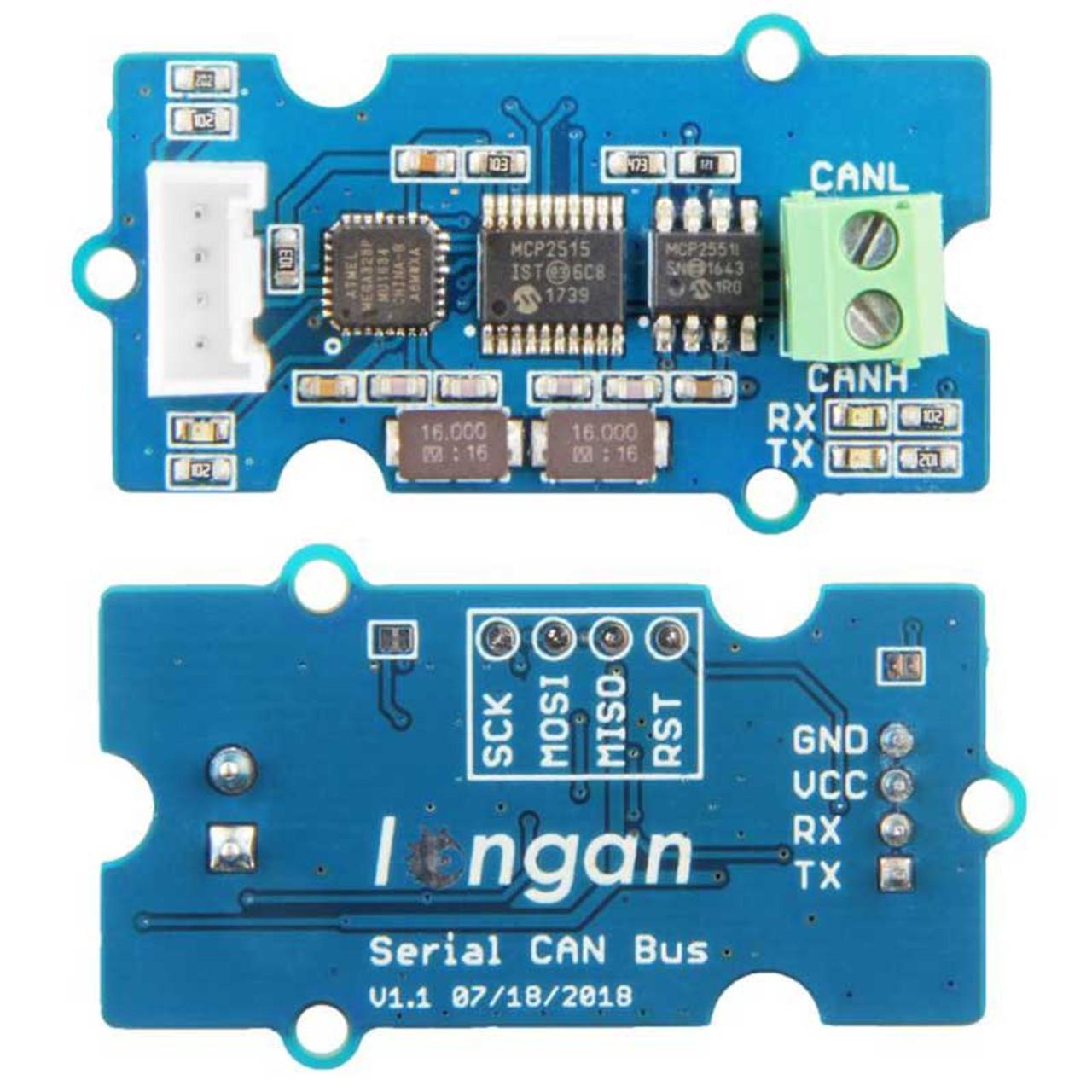 Serial CAN-BUS Module based on MCP2551 and MCP2515 - Seeedstudio