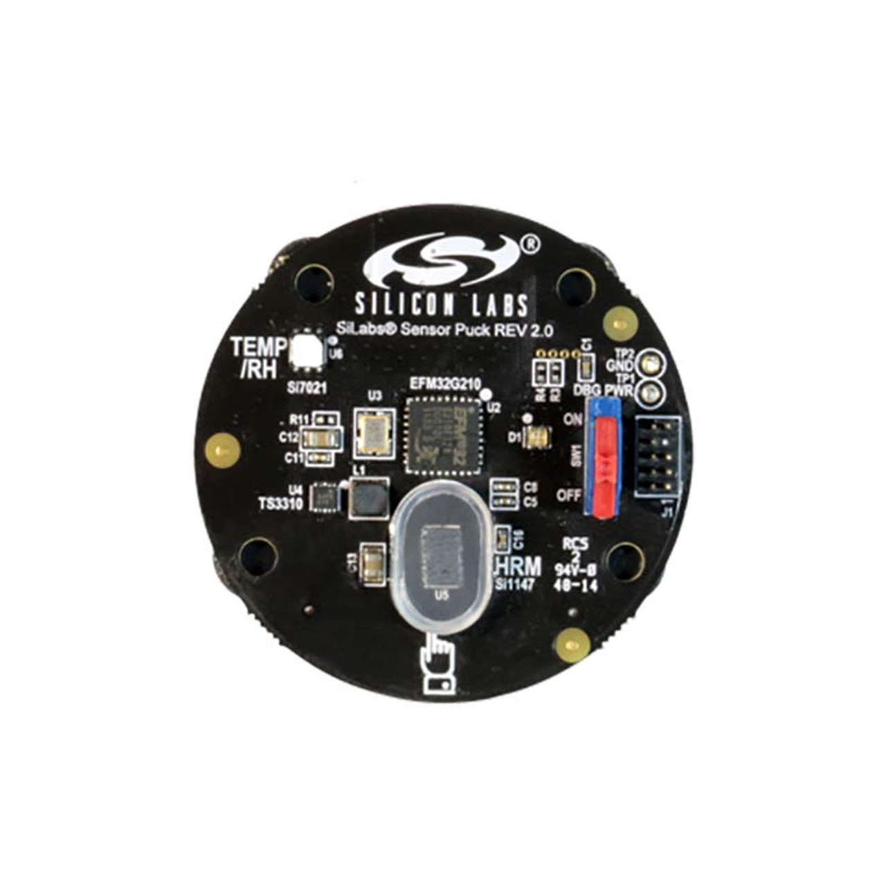 SENSOR-PUCK - Environmental and Biometric Sensor Puck with Bluetooth Low  Energy