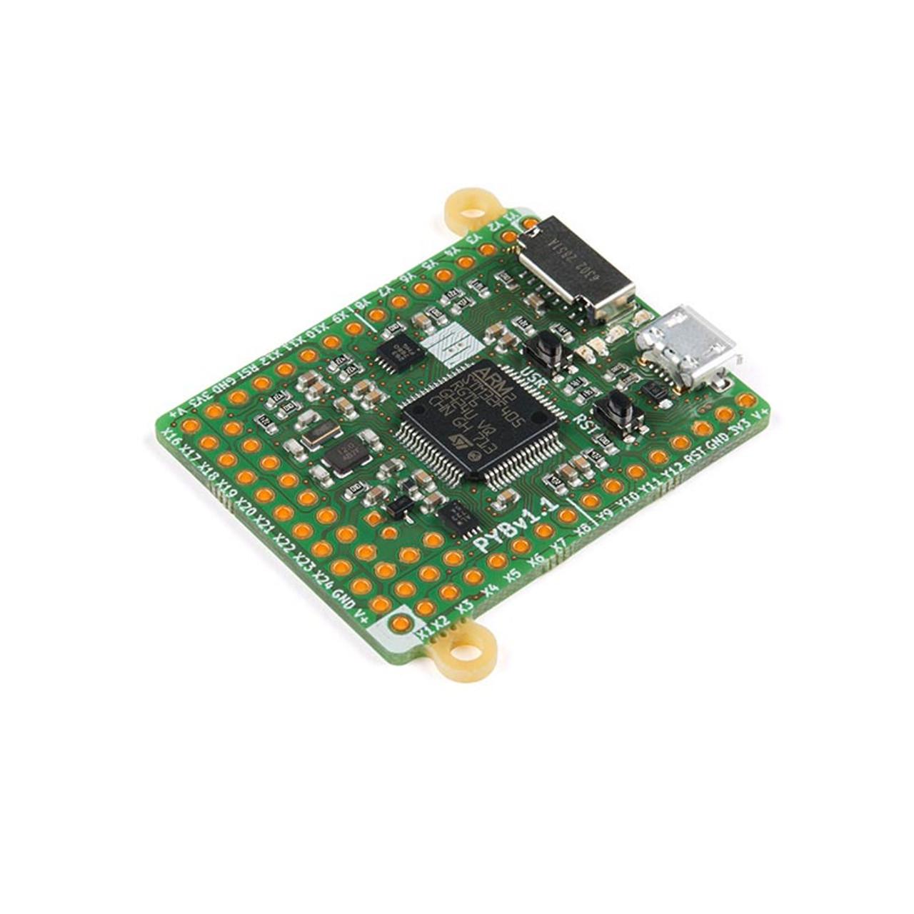 MicroPython pyboard v1 1 STM32F4 ARM Cortex-M4 MCU 32-Bit Embedded  Evaluation Board