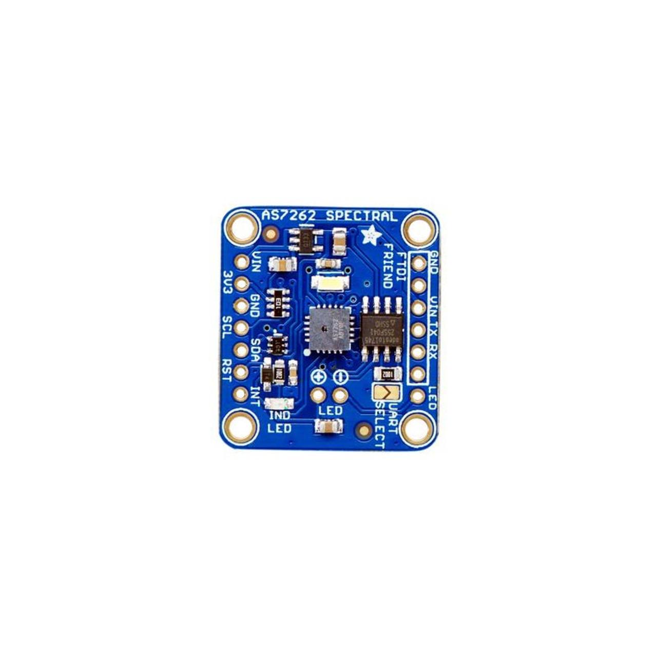 Adafruit AS7262 6-Channel Visible Light Colour Sensor Breakout
