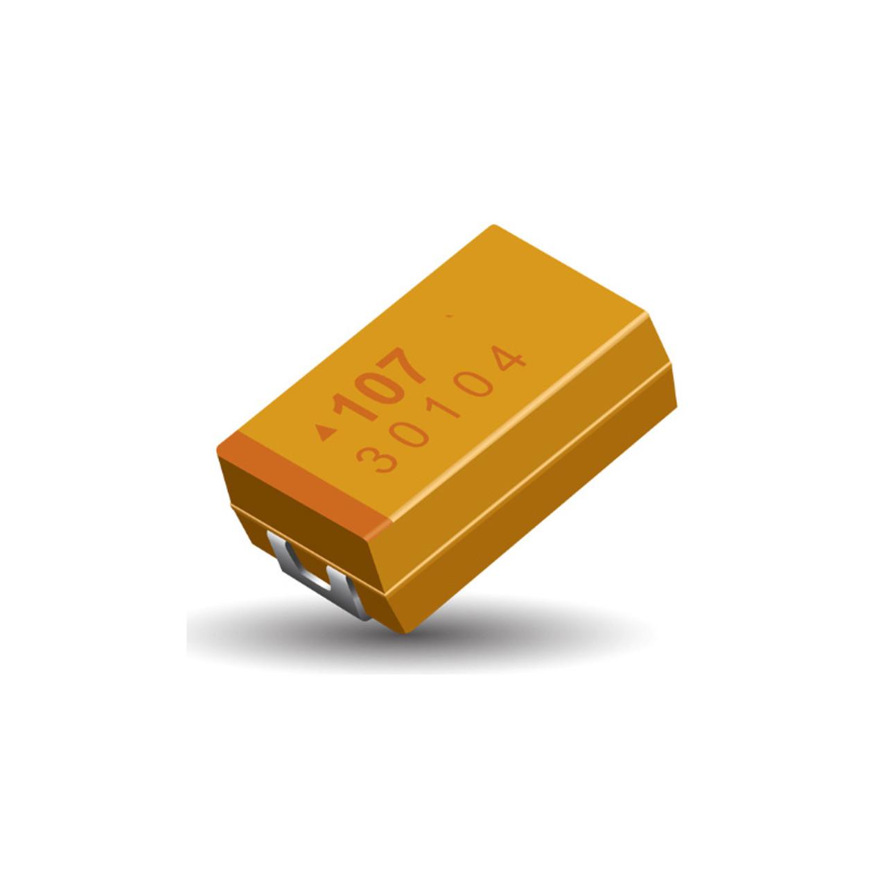 Tantalum Capacitors Tantalum Capacitors SMD 100µf 10/% 16v Case D 5 Piece