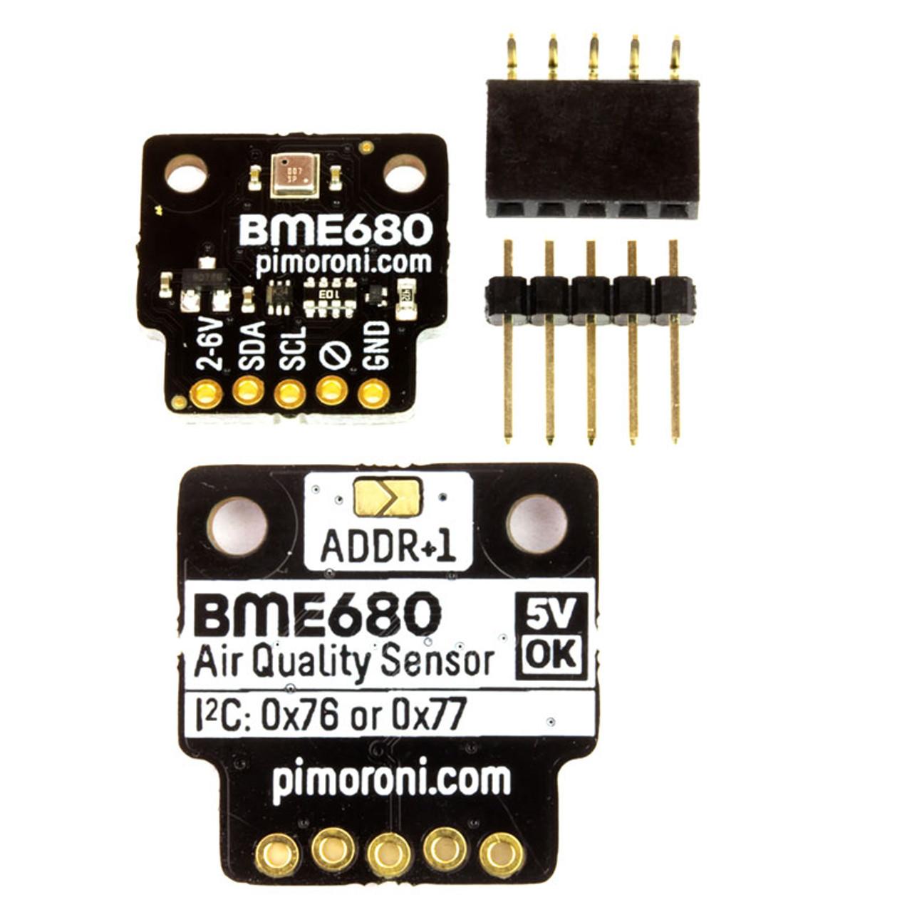 Air Quality Temperature Pressure Humidity Sensor BME680 Breakout