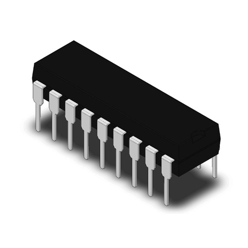 PIC16F84A-04/P - 8-bit CMOS PIC Microcontroller 1.75KB Flash 18-Pin PDIP